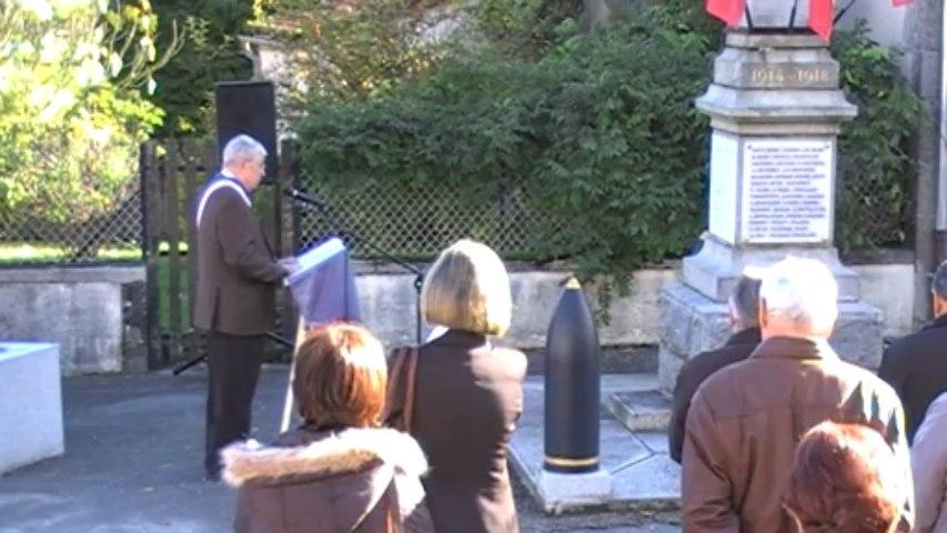 Cérémonie du 11 novembre  à Saint-Estèphe 24360.