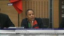 TRAVAUX ASSEMBLEE 14EME LEGISLATURE : Audition de Mme Christiane Taubira, ministre de la Justice, garde des Sceaux, par les commissions des lois et des affaires européennes.
