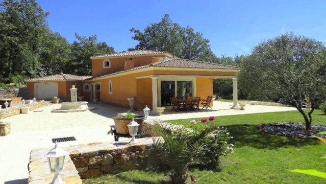 VENTE VILLA -  83300 DRAGUIGNAN - 175 m² - Sur beau terrain 7000 m²
