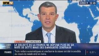 La Chronique eco de Nicolas Doze la dette de la France reste