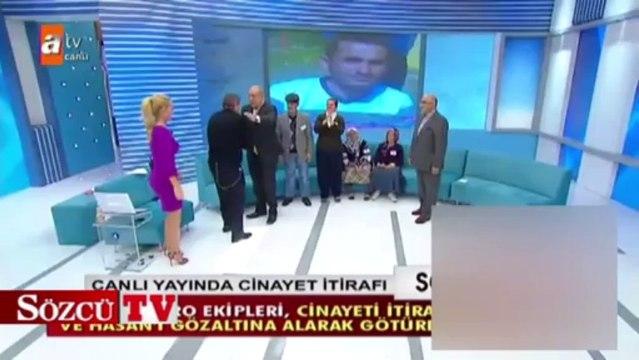 Müge Anlı'da cinayet itirafı polis canlı yayını bastı