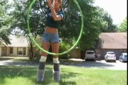 Hula Hooper -Amzaing Dancing hooper Lol Magic by a Girl