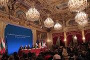 Conférence de presse à l'issue de la conférence européenne de Paris sur l'emploi des jeunes