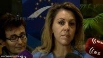 Cospedal reclama un política antiterrorista común en la UE