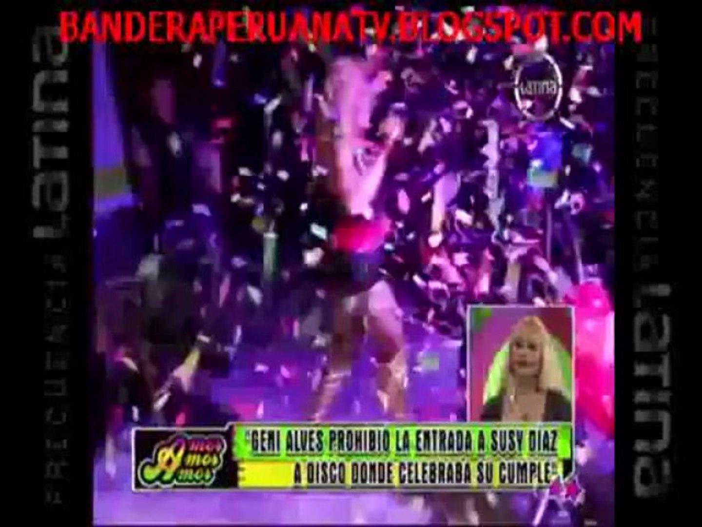 AMOR AMOR AMOR 12-11-2013 : Geni Alves prohibió entrada de Susy Díaz a la celebración de su cumpleañ
