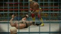 WWE 2K14 -  GAMEPLAY IT -  Hulk Hogan vs King Kong Bundy