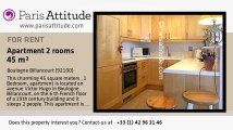 1 Bedroom Apartment for rent - Boulogne Billancourt, Boulogne Billancourt - Ref. 7170