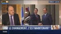 Le Soir BFM: Hollande est plus impopulaire que jamais, doit-il remanier ? - 12/11 2/3