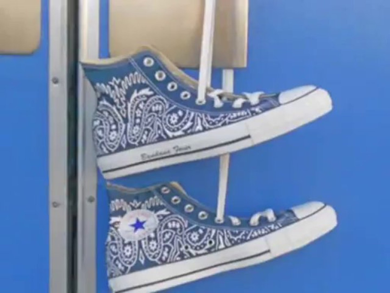 Custom Sneakers Bandana Converse | Custom Shoes by Bandana Fever