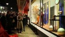 Beauvais : les galeries Lafayette dévoilent leurs vitrines de Noël