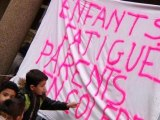 Rythmes scolaires: des parents d'élèves appellent au boycott de l'école ce mercredi - 13/11