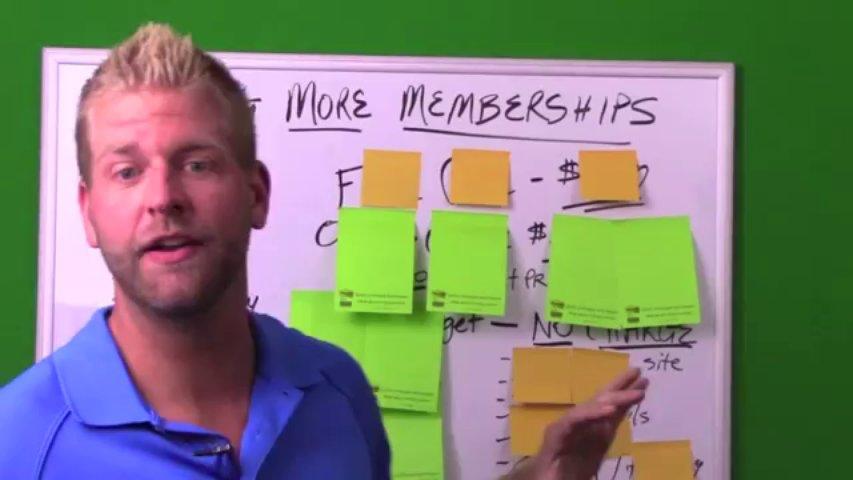 Selling Golf Memberships