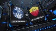 Serie A2 - 4^ - ASD Sporting Roma Vs ASD Pro Tevere Roma  4-2 - Fanner Eight