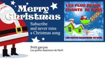 Les petits chanteurs de Noël - Petit garçon