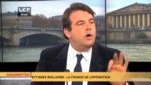 Rythmes scolaires : Thierry Solère évoque l'impact de la réforme à Boulogne-Billancourt