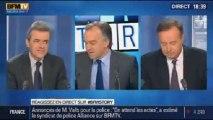 BFM Story: les propos de Peillon sur les rythmes scolaires: débat entre deux maires - 13/11