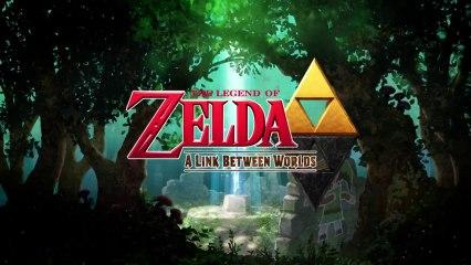 Zelda : A Link Between Worlds - Trailer lancement de The Legend of Zelda : A Link Between Worlds