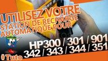 Comment utiliser une station de recharge automatique Encros pour  HP 300/301/350/351