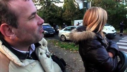 EXCLUSIF: Paris (france) 13/11/2013 Interpellation de David van Hemelryck leader de Hollande-Demission.fr