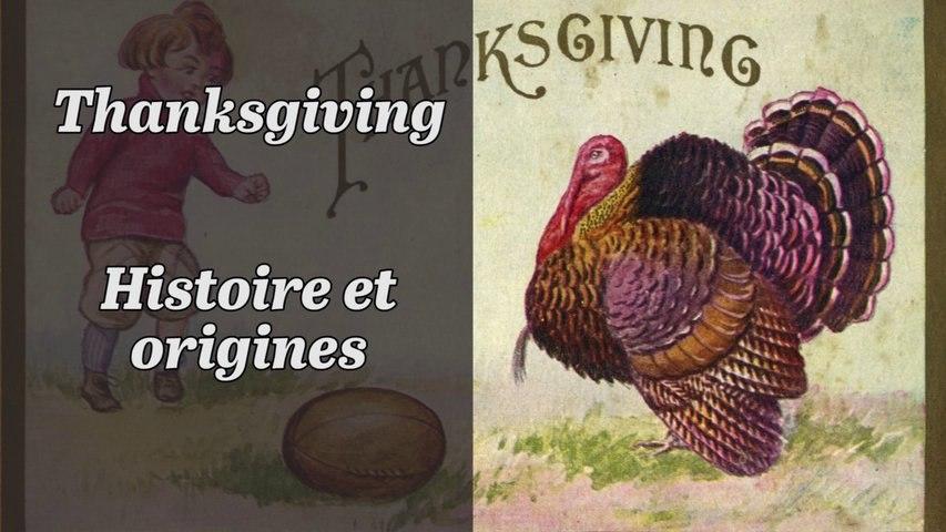 L'histoire et les origines de ThanksGiving - turkey day
