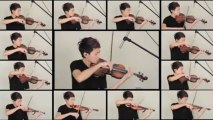 Reprise du Thème du TRONE DE FER au violon. Magique! A GAME OF THRONE theme.