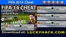 FIFA 14 Hack Unlock Premium, FIFA Points, Money No jailbreak New Release FIFA 14 FIFA Points Hack