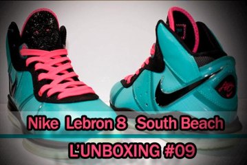 L'unboxing #09    Nike Lebron James 8 South Beach
