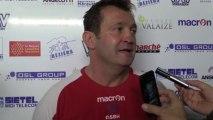 7e journée Pro D2 ASBH - Pau : Réaction Christophe Hamacek