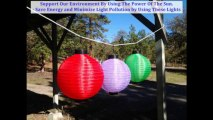 Chinese Lantern Sets - Outdoor Party Lights Video