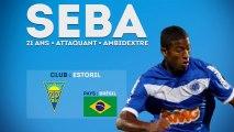 Seba, le jeune brésilien prometteur d'Estoril