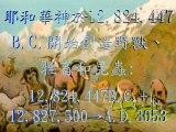 黃仲佳著作《聖經奧秘研究》:《金禧創造宇宙》A.D.2034-2053世界大災難21年,耶穌基督A.D.2054建立「千禧年國」