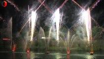 Alès Les fontaines lumineuses une alliance entre l'eau et la lumière