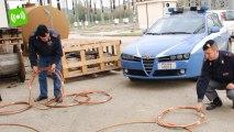 Rimini, predoni all'assalto di 110 chili di rame in una centrale elettrica. Due arresti
