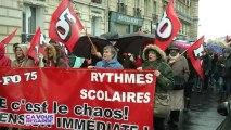 Rythmes scolaires : Peillon tient bon face à la manifestation des enseignants