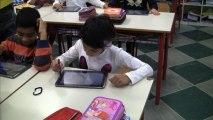 Scuola del futuro a Milano classe interamente digitale