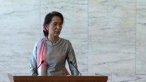 Aung San Suu Kyi a Roma: emendare Carta per una vera democrazia