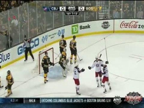 Blue Jackets vs Bruins 11/14/13
