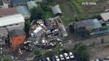 Tornado devasta est del Giappone, le immagini aeree del disastro