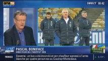 BFM Story: Ukraine-France: le départ des Bleus de l'hôtel pour le stade et les enjeux du football mondial - 15/11
