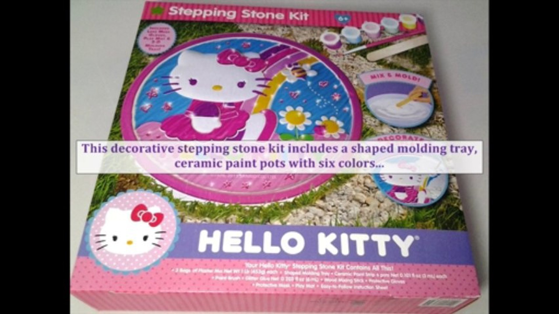 Hello Kitty Stepping Stone