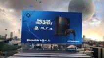 PS4 - Pub de lancement PS4 60 secondes [FR]