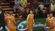 Basket : Défaite du MSB en Eurocup (Le Mans)
