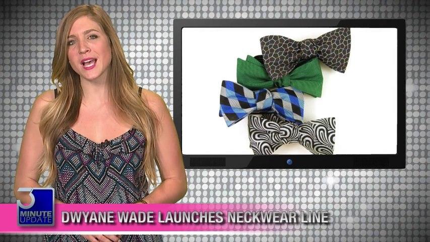 Dwyane Wade Launches Neckwear Line!