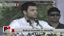 Rahul Gandhi in Amethi recalls Rajiv Gandhi