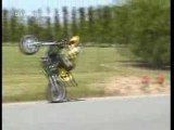 Moto cross weeling crash 2 motos