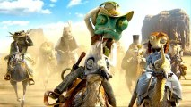 Johnny Depp is a Quirky Chameleon in RANGO