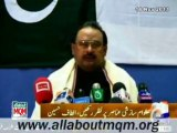 Altaf Hussain expresses sorrow & grief over loss of lives & properties in Sectarian Riot in Rawalpindi on Ashura