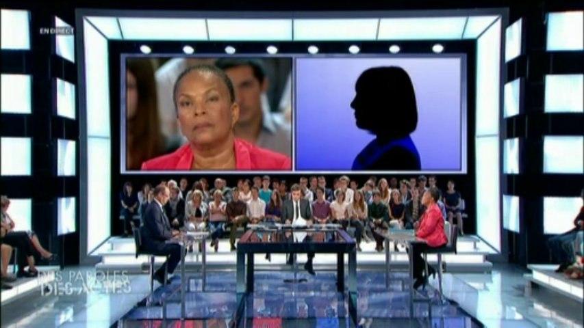 Taubira, la ministre qui ne gardait pas silence. « Des paroles et des actes / jeudi 5 septembre 2013 »