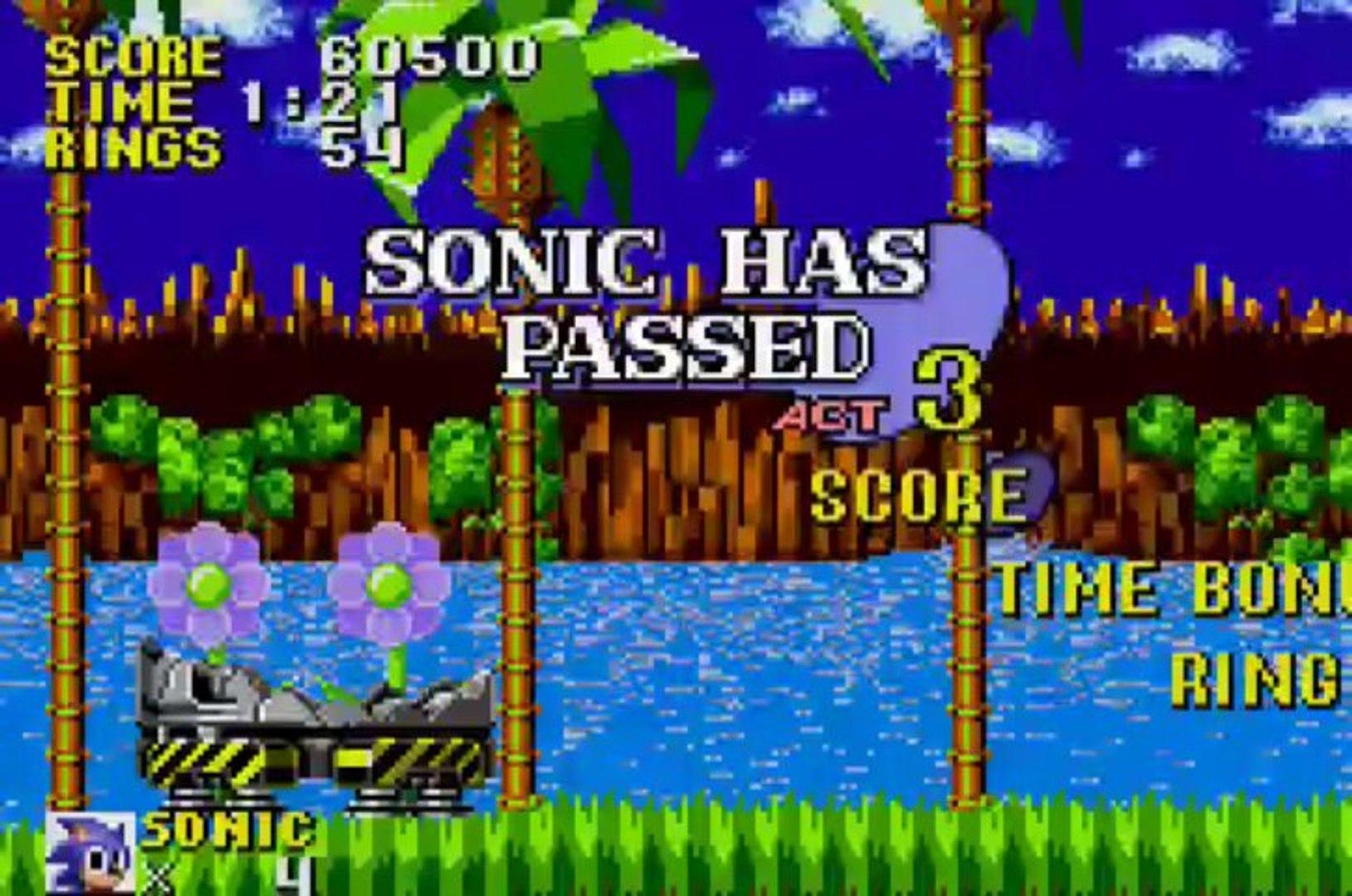 Sonic The Hedgehog Genesis Gameboy Advance Video Dailymotion