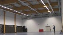 Oxy 0.5 Indoor Rc Paramotor test de  la salle de la rencontre oxy
